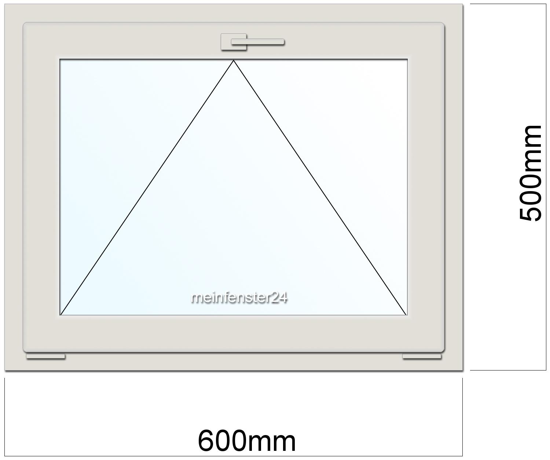 Drutex kunststoff kellerfenster pvc b 600mm x h 500mm t for Kunststoff kellerfenster
