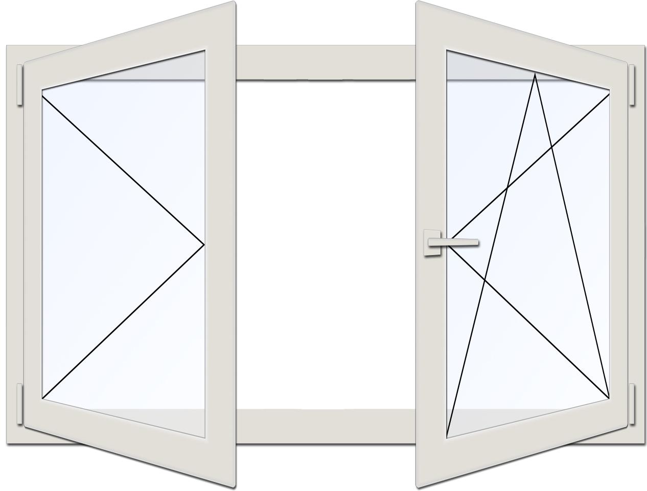 drutex kunststoff fenster pvc b 2600mm x h 1700mm t 70mm 3. Black Bedroom Furniture Sets. Home Design Ideas